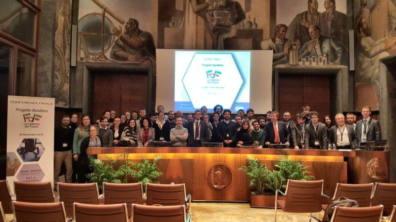 """Novembre 2018 in NSM Group – Evento Finale CNR – Progetto Bandiera """"Fabbrica Del Futuro"""""""